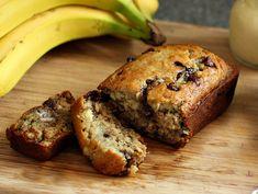 This ain't no banana pancake, but it's a pretty darn good banana chocolate chip bread.