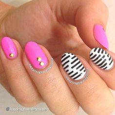 Nail DIY idea. by @kayleighwaleynails  #nailideas #nail #nailart #nailpolish #nailhowto #nailtutorial #nailartdesign #pretty #tutorial #tutorials #instructions #instruction #nailswag #nailartjunkie #cool #polish #nailvideos #nailartvideos #nailsart #nailpictorial #nailarts #cutepolish #nailartwow #nailartaddict #tutoriales #chevron #diynails #manicure #stepbystep #pictorial