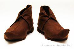 Homemade Peter Pan shoes
