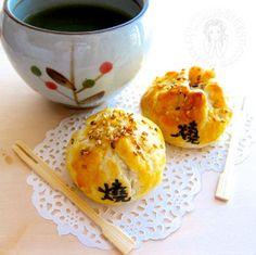chicken shao bao 酥皮烧包
