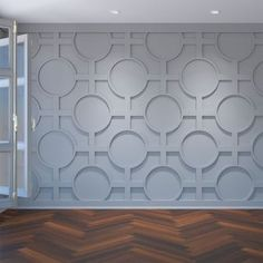 Ekena Millwork in. x 43 in. Large Chesterfield White Architectural Grade PVC Decorative Wall Panels - The Home Depot Pvc Wall Panels, Decorative Wall Panels, Textured Wall Panels, Bathroom Wall Panels, White Wall Paneling, White Walls, Modern Wall Paneling, Stair Paneling, Paneling Ideas