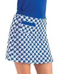slip on golf skort with graphic print #golf4her #nancylopez #fall #golf