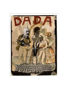 Erwin Blumenfeld (1897-1969), Dada, 1920, India ink and collage on typographical image, 26.1 x 20cm, Jerusalem, The Israel Museum.