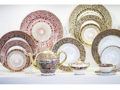 Haviland & Co. Limoges porcelain in the Syracuse Rose pattern.