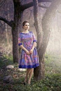Одежда из платков от Ланы Зариньш  