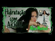 Hidratação Alisadora com ARROZ!! por Segredo dos fios. - YouTube