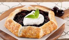 Galette with beets, onion marmalade and chèvre Frozen Cherries, Sweet Cherries, Rhubarb Bbq Sauce, Bacon Mashed Potatoes, Vanilla Sheet Cakes, Chicken Broccoli Pasta, Grilled Sardines, Veggie Cups, Kitchens