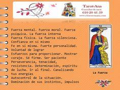 Aprende gratis Tarot: TAROT APRENDE CONMIGO / LA FUERZA