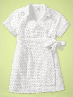DVF for Gap Kids! EPIC! A wrap dress for the little ones!