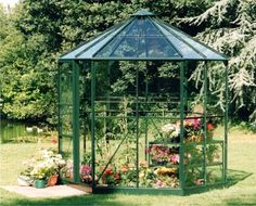 Greenhouses | Halls Polycarbonate Greenhouses | Gothic Arch Greenhouses