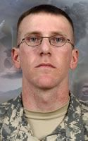 Army Cpl. Jonathan R. Ayers  Died July 13, 2008 Serving During Operation Enduring Freedom  24, of Snellville, Ga.; assigned to the 2nd Battalion, 503rd Infantry Regiment (Airborne), 173rd Airborne Brigade Combat Team, Vicenza, Italy; died July 13 of wounds sustained when his outpost was attacked by small-arms fire and rocket-propelled grenades from enemy forces in Wanat, Afghanistan.