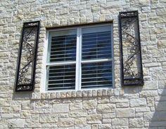 iron shutters | Custom Iron Shutters - Evans Weaver
