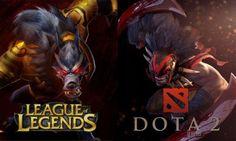 Dota 2 vs League of Legends (LoL) | LevelSkip