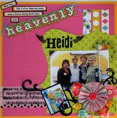 Heavenly Heidi (Swapp) - Scrapbook.com