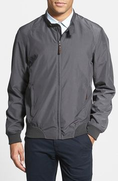 Men's Ted Baker London 'Nordton' Extra Trim Bomber Jacket