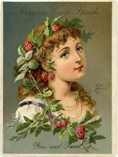 Victorian Raspberry Girl Download