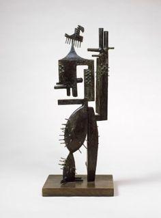 """Julio González, """"Monsieur """" Cactus (Cactus Man I), Iron original completed…"""