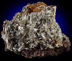 Cerussite from Silver Hill Mine, Davidson County, North Carolina