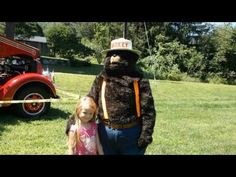 Smokey the Bear visits River Bend Park in Uxbridge Massachusetts for his birthday celebration. A Walt Barrett Video Bear Birthday, Happy Birthday, Smokey The Bears, Birthday Celebration, Green, Happy Brithday, Urari La Multi Ani, Happy Birthday Funny, Happy Birth