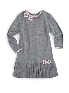 Florence Eiseman Toddler's & Little Girl's Drop-Waist Sweater Dress