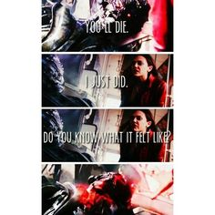 actual quote from 616 Scarlet Witch aka Wanda Maximoff ❤ liked on Polyvore featuring quotes, phrase, saying and text