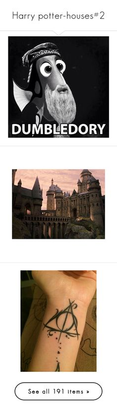"""""""Harry potter-houses#2"""" by argboo on Polyvore featuring harry potter, backgrounds, pictures, hogwarts, hp, filler, quotes, text, fillers and doodle"""