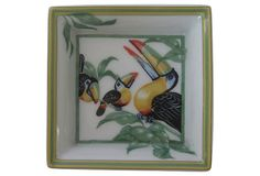 "Hermès Toucans Tray on OneKingsLane.com | 3.2"" sq 