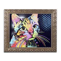 Dean Russo 'Catillac New' Ornate Framed Art