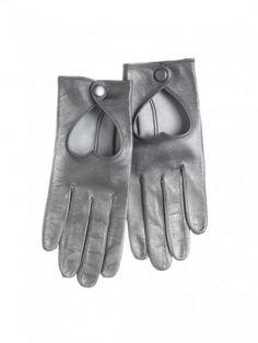 Minna Parikka - Heart Driving Glove metallic grey idk why but I like it