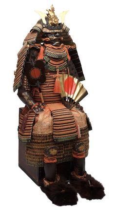 brown samurai armor - Google Search