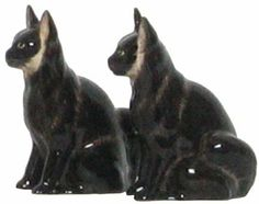 """Ceramic Pottery Angora Black Cat Salt and Pepper Shakers 3.75""""H Two Sets by Traders and Company. $20.00. Available in other Styles. See our Storefront. Food Safe. Dishwasher Safe. These whimsical ceramics will add fun to your kitchen."""
