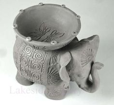 slab pottery ideas  | Making Pinch-pot, Coil and Slab animals - Kids Project Samples For ...