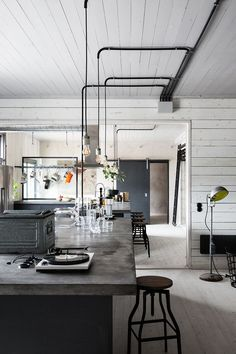 Can't get enough of this industrial home