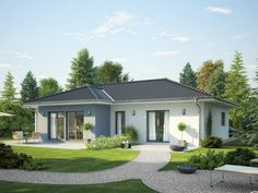 Skandinavischer bungalow  Solution 106 – V3 - Living Haus - http://www.hausbaudirekt.de/haus ...