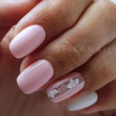 French pedicure designs flower nailart 43 new ideas Nail Manicure, Toe Nails, Pink Nails, Fabulous Nails, Perfect Nails, Nagellack Trends, Stylish Nails, Flower Nails, Nail Polish Colors