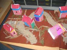 Huisjes bouwen met link naar website