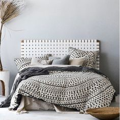 Steel Grey Inca Quilt Cover Set by Aura By Tracie Ellis. Get it now or find more Quilt Covers at Temple & Webster.