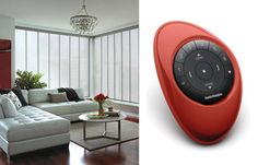 Live in perfect harmony with your home with the newest innovation from Hunter Douglas, PowerView™ Motorization. Offering the convenience of remote operation and wireless technology, customize the settings to fit your unique personal preferences.  #MotorizedWindowTreatments #SkylineGlidingWindowPanels