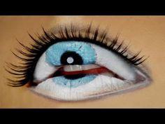 ▶ The Third Eye - Freaky Lips Halloween Tutorial - YouTube