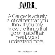 Zodiac Cancer facts. For much more on the zodiac signs, click here.