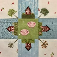Maudy van den Elshout did this version of my Bobbin Chase block in Splendid Sampler. Is this AMAZING or what?????