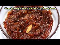 Seeni Sambol Recipe (Sri Lankan) Easy (Vegetarian/Vegan)