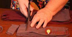 Žena už celé roky nevyhadzuje staré pančuchy. Neuveríte, na čo ich používa! All Craft, Sewing, Diy, Crafts, Home Decor, Gardening, Make Envelopes, Needlepoint, Dressmaking