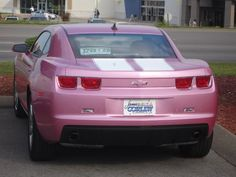 Pink Camaro, Pink Chevy, Chevy Girl, Chevy Camaro, Sexy Cars, Hot Cars, Pink Love, Pretty In Pink, 2012 Camaro