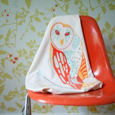 Baby Owl Blanket now featured on Fab.