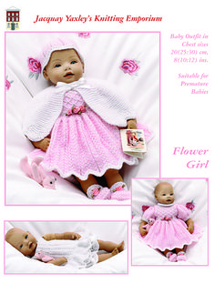 Ravelry: Baby Doll, Newborn Baby Clothes...Flower Girl pattern by Jacquay Yaxley