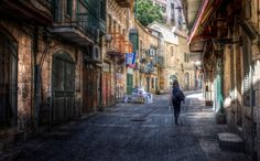 Israel. Jerusalem Walks: Early Morning