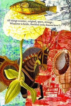 This art journal directive will support you to explore your creative imagination by seeing and playing with imagery and words in fresh ways.