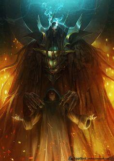 Artist: Bjorn Hurri - Title: Keeper of Souls - Card: Unknown