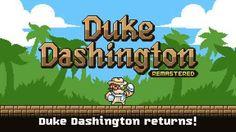 """Duke Dashington Remastered – il mito ritorna alla grande su iPhone!! Che piacevole ritorno!!!  Dopo il successo (nel """"lontano"""" 2014) del primo capitolo, Duke Dashington Remastered è arrivato su iPhone (e speriamo anche su Android a breve)!!!  Un platform con prota #iphone #giochi #ios #videogiochi"""